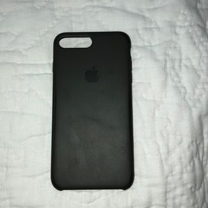 Apple iPhone 8 Plus olive green silicon case